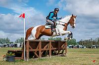 NZL-Georgina Berry rides  Catori Mistress. Morton Timber CCN95 18yrs & under. Final-1st. 2021 NZL-Clevedon Horse Trial. Sunday 17 January. Copyright Photo: Libby Law Photography
