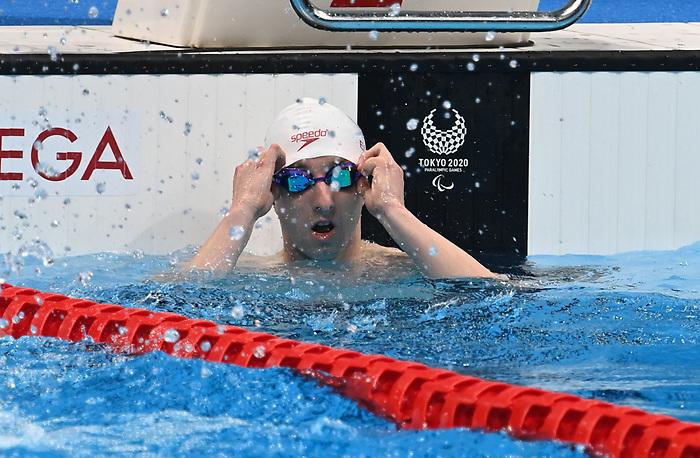 Alexander Elliot, Tokyo 2020 - Para Swimming // Paranatation.<br /> Alexander Elliot competes in the Men's 200m IM - S10 // Alexander Elliot participe au 200 m QNI hommes - S10. 09/03/2021.