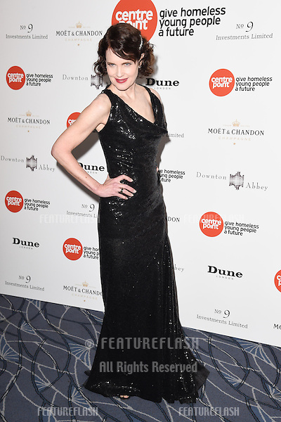 Elizabeth McGovern arrives for The Downton Abbey Ball 2015 in aid of Centrepoint charity at the Savoy Hotel, London. 30/04/2015 Picture by: Steve Vas / Featureflash