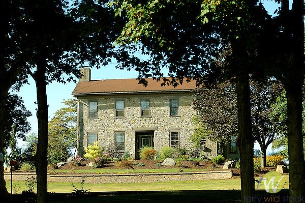 Stone farmhouse, Route 220 near Pennsdale.