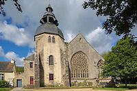 France, Bretagne, (29), Finistère, Pays Bigouden, Pont-l'Abbé:   L'église Notre-Dame des Carmes    // France, Brittany, Finistere, Bigouden, Pont l'Abbé:   The Notre Dame des Carmelites church
