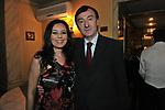 DEBORAH BETTEGA CON ANTONIO PARIS<br /> 25 ESIMO ANNIVERSARO RISTORANTE CAMPONESCHI 2012