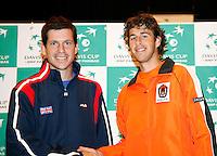 5-4-07, England, Birmingham, Tennis, Daviscup England-Netherlands, 2nd match fryday Henman-Haase