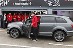Real Madrid player Kaka participates and receives new Audi during the presentation of Real Madrid's new cars made by Audi at the Jarama racetrack on November 8, 2012 in Madrid, Spain.(ALTERPHOTOS/Harry S. Stamper)