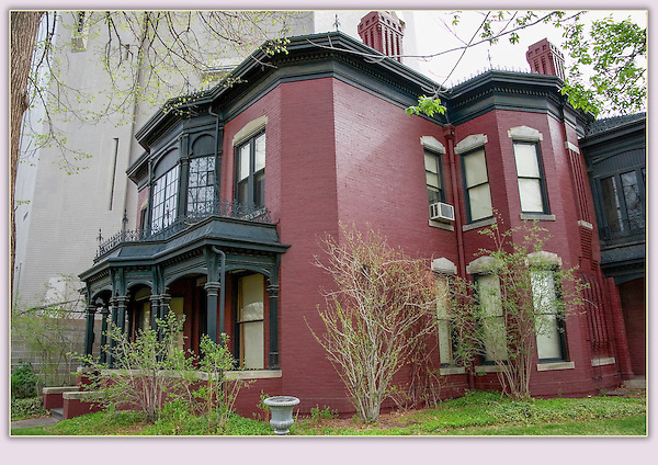 "Byers-Evans House Museum, an historic landmark next to downtown Denver. From John's 5th book: ""Denver Colorado: A Photographic Portrait.""<br />