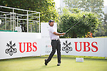 Golfers in action during the Pro-Am ahead the UBS Hong Kong Open golf tournament at the Fanling golf course on 21 October 2015 in Hong Kong, China. Photo by Moses Ng / Power Sport Images
