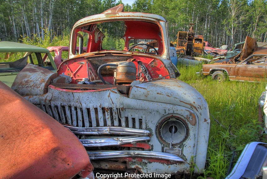 Another great junkyard find. This one in Fort Providence, NWT.