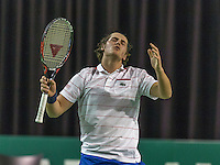 Rotterdam, Netherlands, 11 februari, 2017, ABNAMROWTT, Supermatch semifinal Moos Sporken (NED)