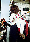 Janick Gers of Gillan Castle Donnington Monsters of Rock 1982 Donnington 1982