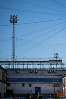 17th April 2021; Kenilworth Road, Luton, Bedfordshire, England; English Football League Championship Football, Luton Town versus Watford; General view of Kenilworth Road Stadium.