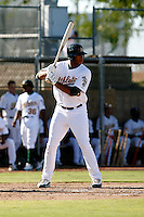 Jeremy Barfield - Oakland Athletics 2009 Instructional League. .Photo by:  Bill Mitchell/Four Seam Images..