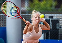 Amstelveen, Netherlands, 7 Juli, 2021, National Tennis Center, NTC, Amstelveen Womans Open, Yana Morderger (GER)<br /> Photo: Henk Koster/tennisimages.com