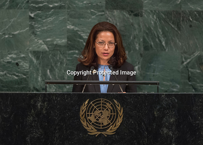 72 General Debate – 25th of September  2017<br /> <br /> Her Excellency Maria Helena PIRES<br /> Chair of Delegation of TIMOR-LESTE