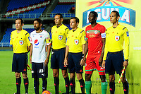CALI -COLOMBIA, 21-02-2017: Cortulua y Independiente Medellín durante partido por la fecha 5 de la Liga Aguila I 2017 jugado en el estadio Pacual Guerrero de la ciudad de Cali. / Cortulua and Independiente Medellin during match for the date 5 of the Aguila League I 2017 played at Pacual Guerrero stadium in Cali city. Photo: VizzorImage / NR / Cont