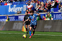 HARRISON, NJ - MARCH 08: Asato Miyagawa #16 of Japan during a game between England and Japan at Red Bull Arena on March 08, 2020 in Harrison, New Jersey.