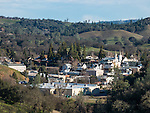 Jackson, California, during late winter, Amador County, Calif.