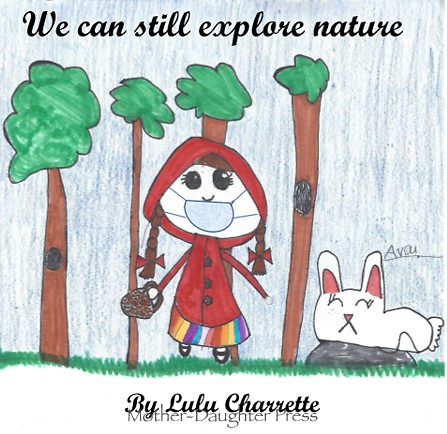 """Explore Nature"" Drawing by Lulu Charrette, Grade 3, Yarmouth, ME, USA"