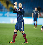 Alan Hutton at the end