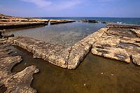Zypern (Nord), römische Fischtanks in Lambousa bei Girne (Keryneia, Kyrenia)