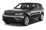 2015 Land Rover RANGE ROVER SPORT HSE Dynamic 5 Door SUV Angular Front stock photos of front three quarter view