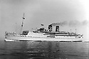 Collect photo of Aranstar that was sunk by a U' Boat whilst taking Italian Internees to Isle of Man during WWII. It is believed the grandfather of Peter Capaldi was a survivor.