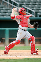 Bryan Anderson / Memphis Redbirds..Photo by:  Bill Mitchell/Four Seam Images