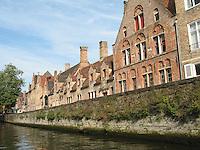 Canal in Brugge, Belgium