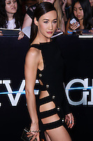 """WESTWOOD, LOS ANGELES, CA, USA - MARCH 18: Maggie Q at the World Premiere Of Summit Entertainment's """"Divergent"""" held at the Regency Bruin Theatre on March 18, 2014 in Westwood, Los Angeles, California, United States. (Photo by David Acosta/Celebrity Monitor)"""