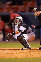 Wisconsin-Milwaukee Panthers catcher Daulton Varsho (10) during a game against the Ball State Cardinals on February 26, 2016 at Chain of Lakes Stadium in Winter Haven, Florida.  Ball State defeated Wisconsin-Milwaukee 11-5.  (Mike Janes/Four Seam Images)