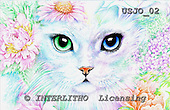 Marie, REALISTIC ANIMALS, REALISTISCHE TIERE, ANIMALES REALISTICOS, paintings+++++,USJO02,#A# ,Joan Marie cat eyes