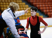 Brian Orser Canadian figure skater. Photo copyright Scott Grant.