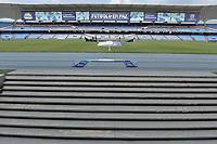 CALI - COLOMBIA, 23-02-2020: Boca Juniors de Cali y Llaneros F.C. en partido por la fecha 4 de la Torneo BetPlay DIMAYOR I 2020 jugado en el estadio Pascual Guerrero de la ciudad de Cali. / Boca Juniors de Cali and Llaneros F.C. in match for the for the date 4 as part of BetPlay DIMAYOR Tournament I 2020 played at Pascual Guerrero stadium in Cali. Photo: VizzorImage / Gabriel Aponte / Staff