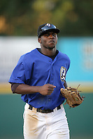 August 30 2009: Jeremy Moore of the Rancho Cucamonga Quakes during game against the Stockton Ports at The Epicenter in Rancho Cucamonga,CA.  Photo by Larry Goren/Four Seam Images