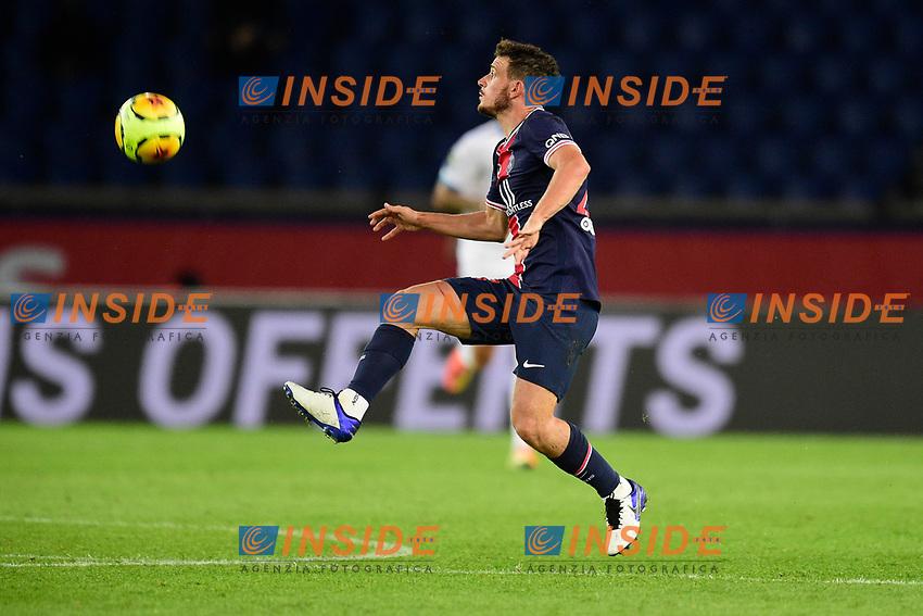 Alessandro Florenzi (PSG) <br /> 13/09/2020<br /> Paris Saint Germain PSG vs Olympique Marseille OM <br /> Calcio Ligue 1 2020/2021  <br /> Foto JB Autissier Panoramic/insidefoto <br /> ITALY ONLY