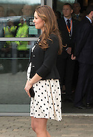April 26th, 2013 - Watford..Catherine, Duchess of Cambridge visits Warner Bros Studios...****** BYLINE MUST READ : © Spread Pictures ******..****** No Web Usage before agreement ******..****** Stricly No Mobile Phone Application or Apps use without our Prior Agreement ******..Enquiries at photo@spreadpictures.com