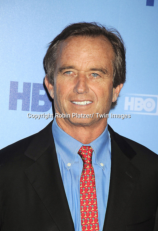 """Robert Kennedy, Jr attends the New York Premiere of  """"Ethel"""", the documentary about Ethel Kennedy which was directed and produced by Rory Kennedy, on October 15, 2012 at The Time Warner Center in New York City. HBO is showing the movie on October 18, 2012."""