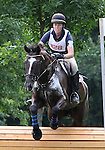 11 July 2009: Rebecca Howard riding Roquefort during the cross country phase of the CIC 2* Maui Jim Horse Trials at Lamplight Equestrian Center in Wayne, Illinois.