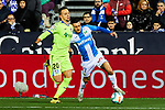 Oscar Rodriguez of CD Leganes and Nemanja Maksimovic of Getafe FC during La Liga match between CD Leganes and Getafe CF at Butarque Stadium in Leganes, Spain. January 17, 2020. (ALTERPHOTOS/A. Perez Meca)