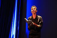"""Prêmio Sesc de Literatura 2017 em Belém<br /> No evento, os escritores vencedores da edição deste ano João Meireles (conto) e José Almeida Junior (romance)  participam de bate-papo e apresentam suas obras publicadas pela editora Record, parceira do prêmio. E, em seguida haverá uma leitura dramática de fragmentos do romance """"Última hora"""" e """" o Abridor de Letras"""", por Ester Sá e Jorge Ney.<br /> <br /> Lançado pelo Serviço Social do Comércio (Sesc) em 2003, o concurso identifica escritores inéditos, cujas obras possuam qualidade literária para edição e circulação nacional. Para fortalecer esse vínculo com a literatura, pela primeira vez o Sesc promove a cerimônia de lançamento dos livros premiados no Prêmio Sesc de Literatura 2017."""