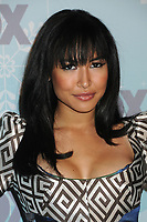 13 July 2020 - Naya Rivera, the actress best known for playing cheerleader Santana Lopez on Glee, has been confirmed dead. Rivera, 33, is believed to have drowned while swimming in the lake with her 4-year-old son, who was found asleep on their rental pontoon boat after it was overdue for return. 11 January 2011 - Pasadena, California - Naya Rivera. 2011 Fox All-Star Party held at Villa Sorriso. Photo Credit: Byron Purvis/AdMedia