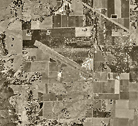 historical aerial photograph of Lampson Field airport (1O2), Lakeport, Lake County,  California, 1993