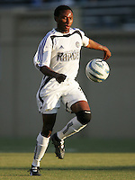 Jeff Cunningham. The San Jose Earthquakes defeated the Colorado Rapids 1-0 at Spartan Stadium in San Jose, CA on June 29, 2005.