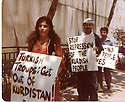USA 1989.Demonstration of Kurds in Washington against the Turkish army      USA 1989. Manifestation de Kurdes a Washington contra l'armee turque