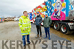 Circus Vegas owner Stephen Courtney with Declan Ellis (aka Dexter the Clown) and Ring Master Stephen Courtney Jnr.