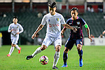FC Hanoi Defender Nguyen Van Dung (r) in action during the AFC Champions League 2017 Preliminary Stage match between  Kitchee SC (HKG) vs Hanoi FC (VIE) at the Hong Kong Stadium on 25 January 2017 in Hong Kong, Hong Kong. Photo by Marcio Rodrigo Machado/Power Sport Images