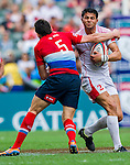 Russia vs Tunisia during their HSBC Sevens Wold Series Qualifier match as part of the Cathay Pacific / HSBC Hong Kong Sevens at the Hong Kong Stadium on 27 March 2015 in Hong Kong, China. Photo by Juan Manuel Serrano / Power Sport Images