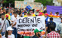 Paro Nacional 21 Noviembre 2019 / National strike 21 November 2019 Colombia, 21-11-2019- Colombia
