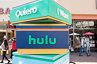 """LOS ANGELES, CA - OCTOBER 9: Hulu celebrates Hispanic Latinx Heritage Month at The Citadel with """"Acentos Bienvenidos"""" on October 9, 2021 in Commerce, California.  (Photo by Willy Sanjuan/Hulu/PictureGroup)"""