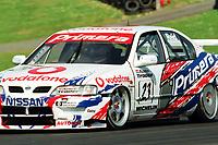 1998 British Touring Car Championship at Brands Hatch. #23 Anthony Reid (GBR). Vodafone Nissan Racing. Nissan Primera Gt.