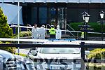 The scene at the Gleneagle Hotel on Sunday morning